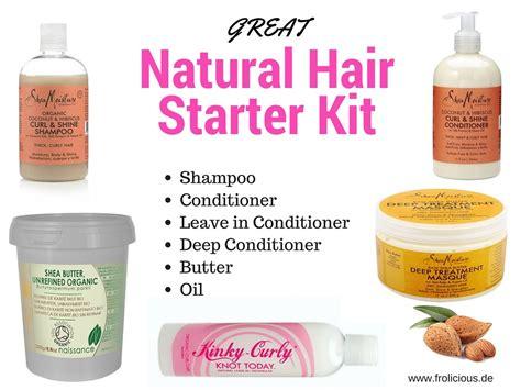 great natural hair starter kit  hair growth