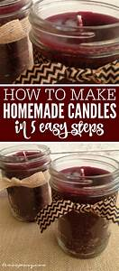 how to make homemade candles in 5 easy steps With how to print on candles