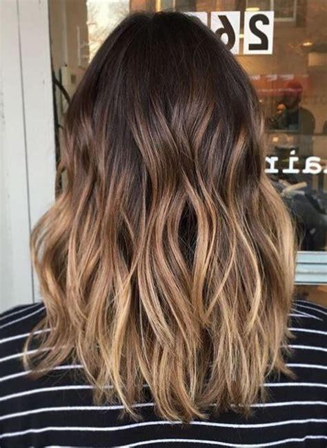 ombre braun frisuren fuer jede haarlaenge hair