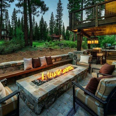 marvelous outdoor seating areas  fire pits   amaze