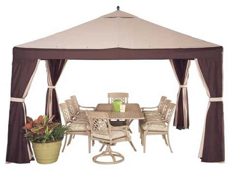Lowes Replacement Patio Cover by Kaboodle Lowes 10 X 10 Garden Treasures Gazebo Replacement