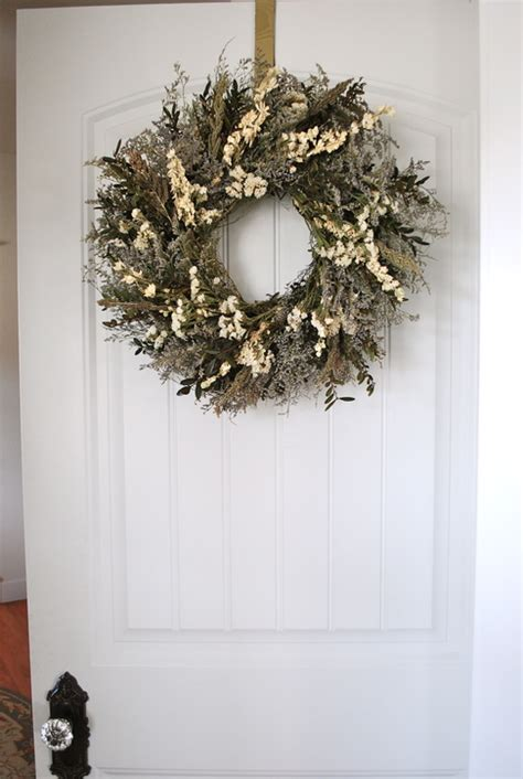 how to hang a wreath on a door dsc 0030 kate coury s farmhouse