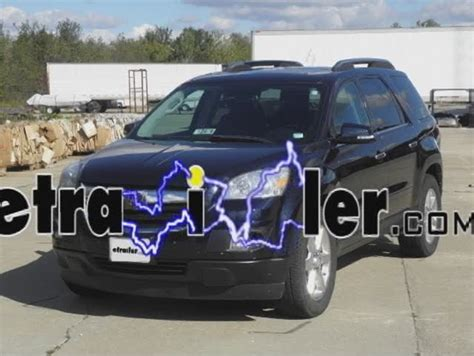 Saturn Outlook Custom Fit Vehicle Wiring Tow Ready
