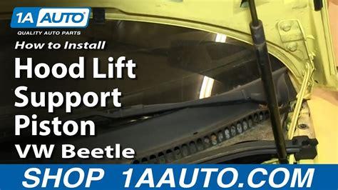 replace hood struts   vw beetle youtube