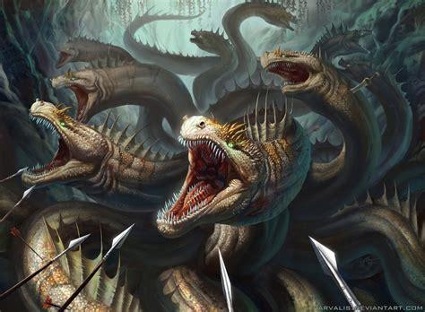 hydra monster of the lerna
