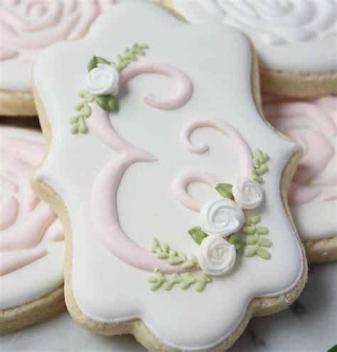 images  cookies initial monograms  pinterest