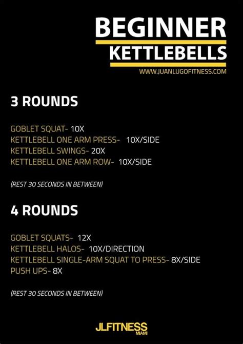 routines beginner kettlebell workout routine easy implement gym