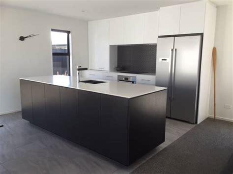 kitchen designs island acrylic benchtops photo galleries kiwi kitchens