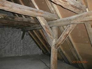 Holz Für Dachstuhl : holz eines dachstuhles mit dem trockeneisstrahlen ges ubert ~ Sanjose-hotels-ca.com Haus und Dekorationen