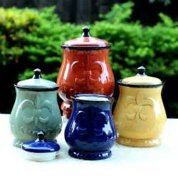 yellow kitchen canister set details about country kitchen canister set tuscan decorative green blue yellow food storag