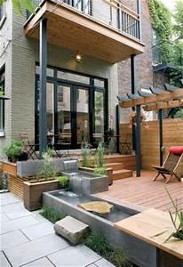 1000 idees a propos de amenagement paysager pour petite With marvelous amenagement d un petit jardin de ville 8 patio et petit jardin moderne des idees de design d