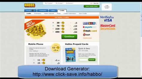 habbo coin generator