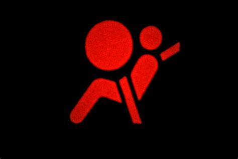airbag light on the meanings of the symbols on a car dashboard it still