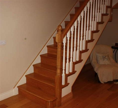 wooden banister spindles wooden handrail for modern stairs wood stair banisters and