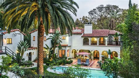 american rag founder lists  spanish style house  los