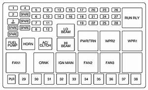 2006 Pontiac G6 Fuse Box Diagram