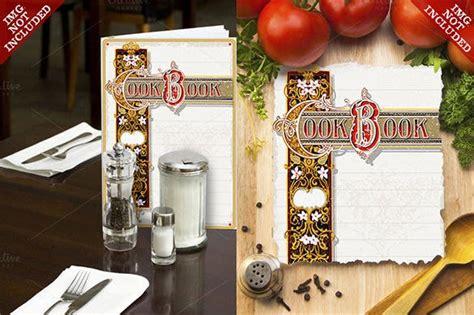 fabulous cookbook templates designs  premium