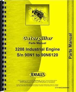 Caterpillar 3208 Engine Parts Manual