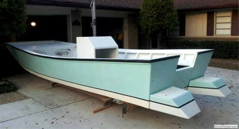 Panga Houseboat by Spira Boats Easy To Build Boat Plans