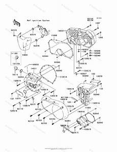 Kawasaki Motorcycle 2009 Oem Parts Diagram For Engine
