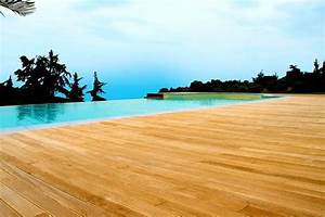 ligne elysium planchers en bois pour espaces exterieurs With parquet pour piscine