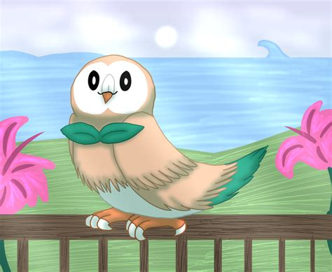 Pokemon Sun And Moon Grass Starter By Strayhowl