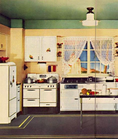 retro kitchen floor c 1935 kitchen retro kitchens kitchens 1935