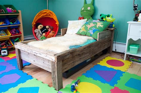 Kid Bed by Custom Toddler Bed Reclaimed Wood By Greene Pepper