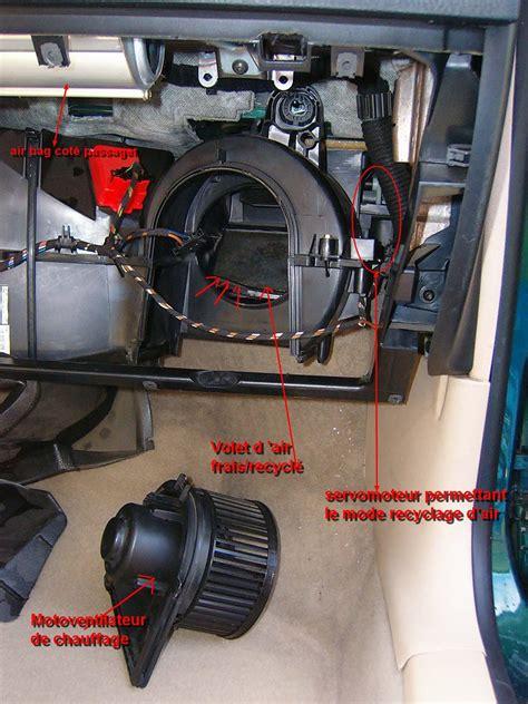 si e d air resolu clim qui souffle chaud pb moteur volet d 39 air v71