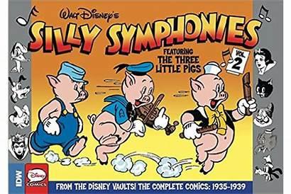 Silly Comic Disney Strips Symphonies Volume Classic