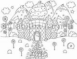 Coloring Candy Cove Pack Pdf sketch template