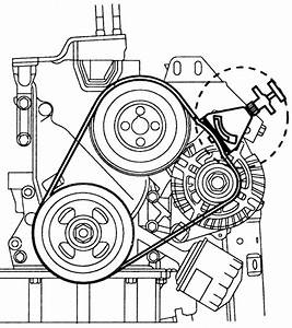 2006 Kia Spectra Engine Belt Diagrams