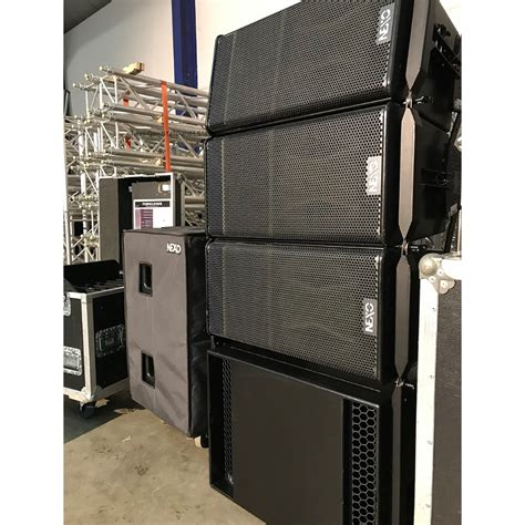 Nexo Geo S1210 and LS18 System - Buy now from 10Kused