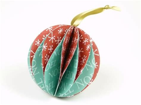 lovely paper christmas ornaments you can make