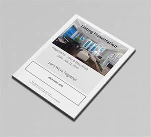 Real estate listing presentation book