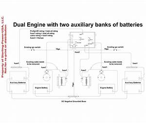 3 Battery Wiring Diagram Boat