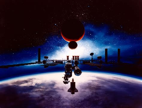 space exploration initiative artist s concept the planetary society