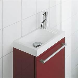 Petit Lave Main Wc : salle de bain petit espace 1 lave main petit lavabo wc ~ Dailycaller-alerts.com Idées de Décoration