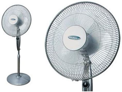 Quietest Table Fan On The Market by Soleus Fs 40r A 16 Inch 3 Speeds Whisper Oscillating