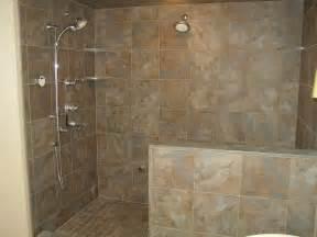 Image of: Doorless Walk Shower Design Snail Shell Joy Studio Design Gallery Design The Proper Shower Tile Designs And Size