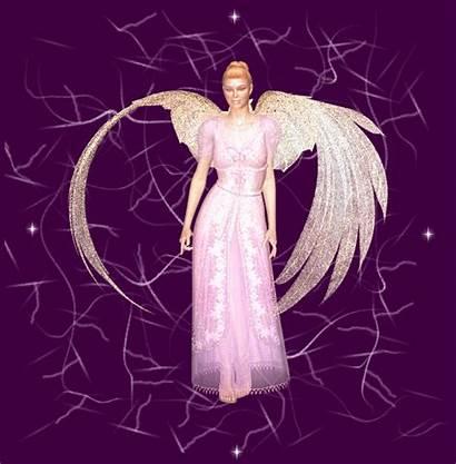 Angels Angel Animated Purple Fan Glitter Gifs