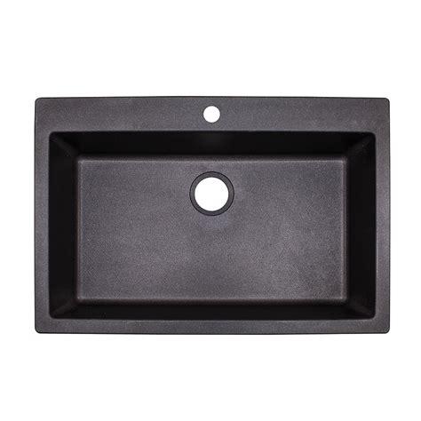 franke granite kitchen sink shop franke primo 33 in x 22 in graphite single basin