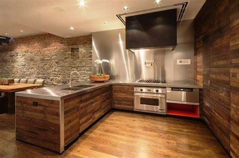 Moderne Einrichtung Mit Holz In Form by Wandverkleidung Holz 55 Beispiele Dass Holzw 228 Nde Den
