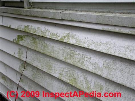stains discoloration  buildings   diagnose