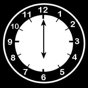 disegno da colorare orologio ore  cat