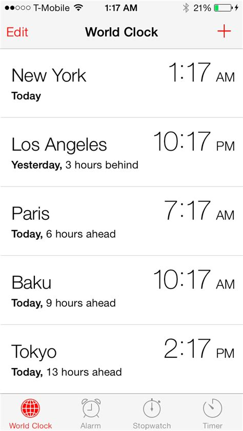 iOS 7: the ultimate Clock app guide