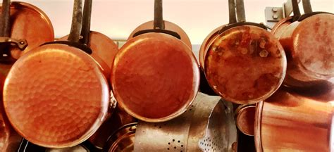 copper cookware    usa  kd juicy post kitchen detail