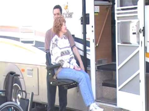 cool wheelchair lift glide n go xr for rv s tractor