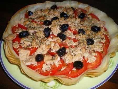 cuisiner la feuille de brick tarte aux feuilles de brick tomates et thon dans vos