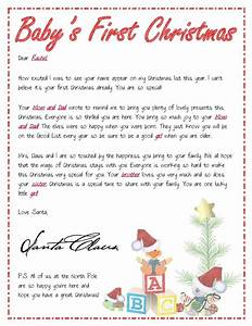 Pin by tiffany zolman on fun things all yr through pinterest for Baby s first letter from santa